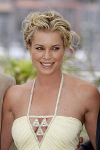 Rebecca Romijn at the photocall to promote