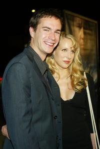 James D'Arcy and Lucy Punch at the Los Angeles premiere of