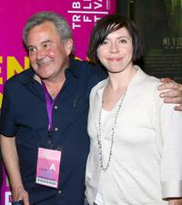 Producer David Collins and Eileen Walsh at the premiere of