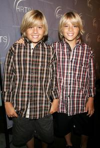 Dylan Sprouse and Cole Sprouse at the Hollywood Radio and Television Society presents Kids Day 2005.