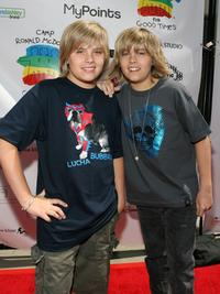 Dylan Sprouse and Cole Sprouse at the Camp Ronald McDonald For Good Times 1st Annual Celebrity Teen Fashion Show.