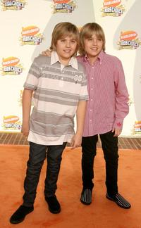 Dylan Sprouse and Cole Sprouse at the 20th Annual Kids Choice Awards.