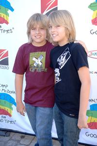 Dylan Sprouse and Cole Sprouse at the Camp Ronald McDonald for kids 14th Annual Family Halloween Carnival.