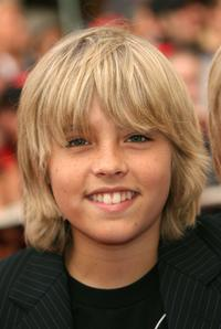 Dylan Sprouse at the world premiere of