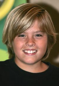 Dylan Sprouse at the Disney channel stars meet the press event.