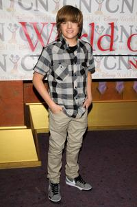 Dylan Sprouse at the World of Disney store.
