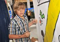 Dylan Sprouse at the Target Presents Varietys Power of Youth event.