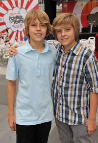 Cole Sprouse and Dylan Sprouse at the Target Presents Varietys Power of Youth event.