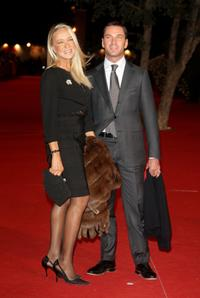 Eleonora Giorgi and Massimo Ciavarro at the premiere of