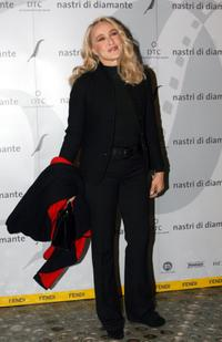 Eleonora Giorgi at the Fendi party Nastri di Diamante.