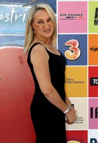 Eleonora Giorgi at the Giffoni Film Festival.