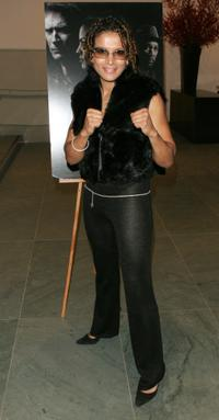 Lucia Rijker at the special screening of