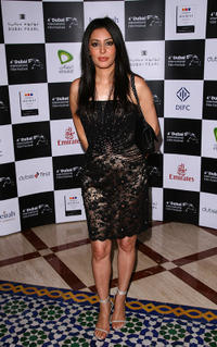 Laila Rouass at the premiere of