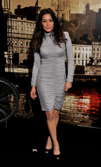Laila Rouass at the Specsavers Crime Thriller Awards 2010 in London.