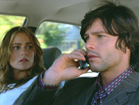 Amanda Brooks and Jason Behr in