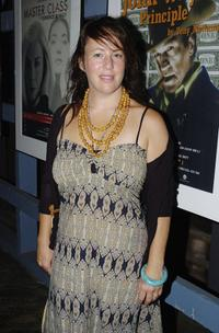Sacha Horler at the opening night of
