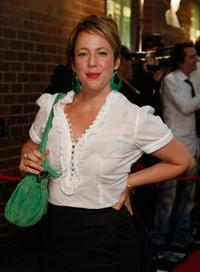 Sacha Horler at the Australian premiere of