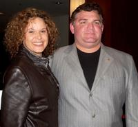 Leah Purcell and Friend at the Launch Charity Auction of D Spencer Australian Children's Music Foundation.