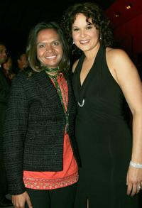 Kerrianne Cox and Leah Purcell at the 2005 Deadly Awards.