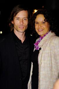 Guy Pearce and Leah Purcell at the Sydney premiere of