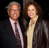 John Morriarty and Leah Purcell at the Australian premiere of