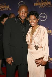 Rockmond Dunbar and Malinda Williams at the Film Life's 2006 Black Movie Awards.