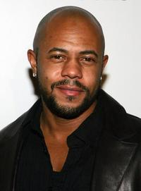 Rockmond Dunbar at the Billboard Awards pre-party.