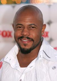 Rockmond Dunbar at the Fox All-Star Television Critics Association party.