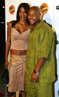 Victoria Rowell and Rockmond Dunbar at the Russell Simmons Def Jam Poetry Broadway