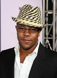 Rockmond Dunbar at the premiere of