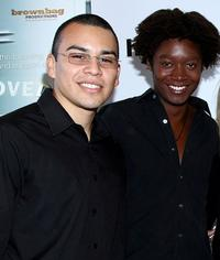 Joseph Julian Soria and Matthew Thompson at the premiere of