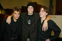 Emile Hirsch, Jake Richardson and Kieran Culkin at the premiere of