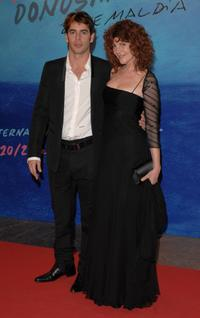 Eduardo Noriega and Susu Pecoraro at the closing Ceremony of 55th San Sebastian International Film Festival.