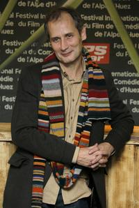 Hippolyte Girardot at the 10th comedian film festival of L'Alpe d'Huez.