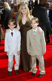 Sawyer Sweeten, Madylin Sweeten and Sullivan Sweeten at the 57th Annual Emmy Awards.