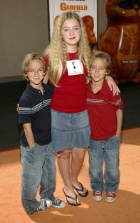 Sawyer Sweeten, Madylin Sweeten and Sullivan Sweeten at the premiere of