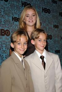 Sawyer Sweeten, Madylin Sweeten and Sullivan Sweeten at the HBO Emmy after party.