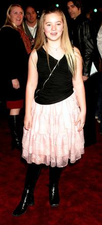 Madylin Sweeten at the Los Angeles premiere of