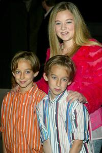 Sullivan Sweeten, Sawyer Sweeten and Madylin Sweeten at the Everybody Loves Raymond Series Wrap party.