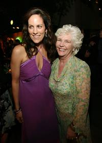 Annabeth Gish and Fionnula Flanagan at the after party for the screening of