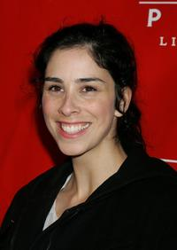 Sarah Silverman at the premiere of
