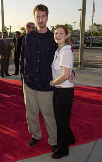 Tom Green and Drew Barrymore at the premiere of