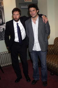 Tom Green and Jeremy Sisto at the Fifth Annual Golden Trailer Awards.