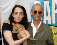 Jane Adams and Joel Grey at the 5th Annual Broadway Barks.