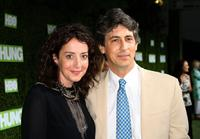 Jane Adams and Alexander Payne at the premiere of
