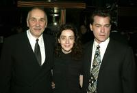 Frank Langella, Jane Adams and Ray Liotta at the after party of the opening night of