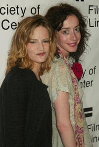 Jane Adams and Jennifer Jason Leigh at the 3rd Annual Young Friends of Film Honors.
