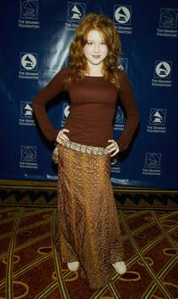 Renee Olstead at the Grammy Foundations 7th Annual Entertainment Law Initiative Luncheon and Scholarship Presentation.