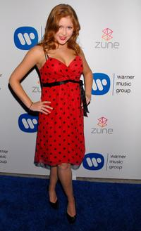Renee Olstead at the Warner Music Group's 2007 Grammy Party.