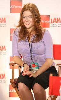 Renee Olstead at the JCPenney Jam press conference.